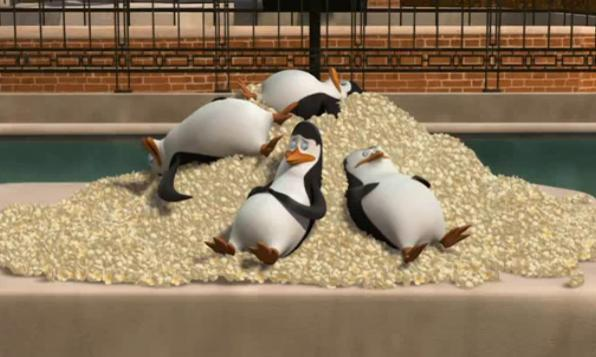 Too much popcorn